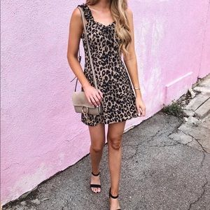 Nasty Gal Leopard Dress Size 4